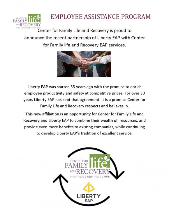 Liberty EAP Partnership with CFLR EAP Services Announcement