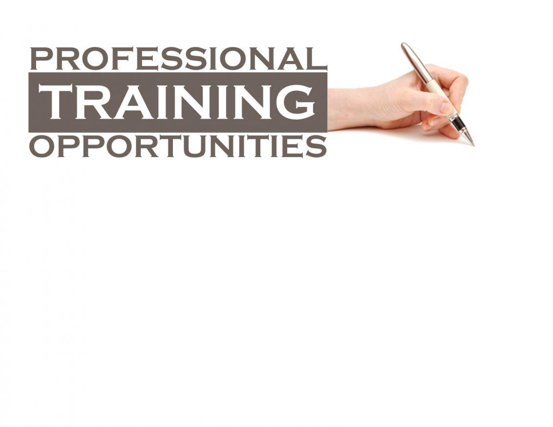 2020 Professional Training Schedule