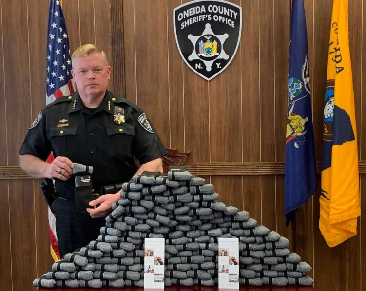CFLR donated Soledier Socks to the Oneida County Sheriff's Department.